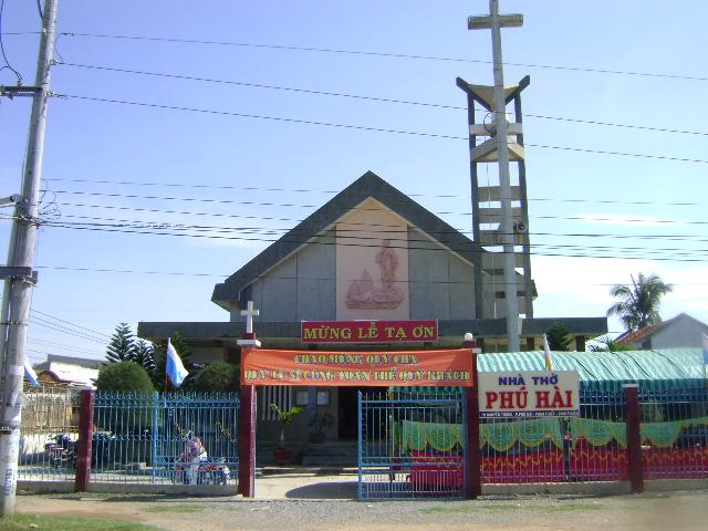Nhà thờ Phú hài Phan thiết