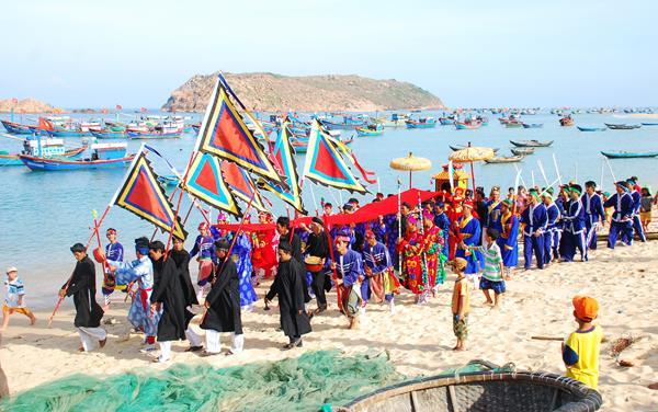 Lễ hội cầu ngư Bình thuận